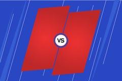 Versus screen. Background for battle or competition. Versus screen. Background for battle or competition royalty free illustration