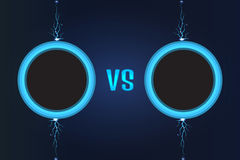 Versus Screen vector. Vector illustration Royalty Free Stock Photography