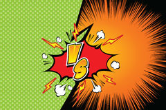 Versus. vs. Fight backgrounds comics style design. Vector illustration. EPS 10 Royalty Free Stock Photo