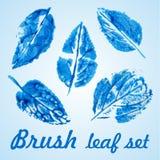 Vert écologique d'icône Photographie stock
