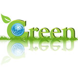 Vert illustration stock