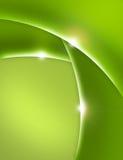 Vert abstrait de fond Image libre de droits