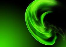 vert abstrait de fond Image stock