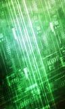 Vert abstrait de fond de technologie illustration libre de droits