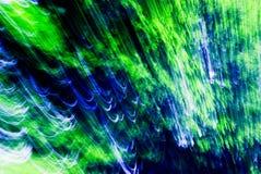 Vert abstrait et bleu Photos libres de droits