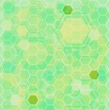 Vert au sol hexa Images libres de droits