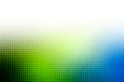 vert bleu de fond Photos libres de droits