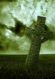 Vert celtique Photographie stock libre de droits