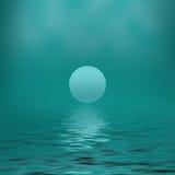 Vert clair abstrait de fond Photographie stock libre de droits