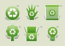 Vert d'écologie Photo libre de droits