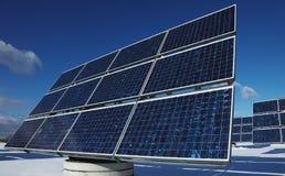 vert d'énergie Image libre de droits
