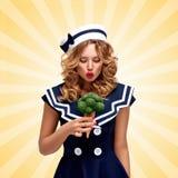 Vert d'amour Photo libre de droits