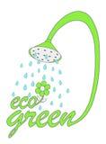 Vert d'Eco Photographie stock libre de droits