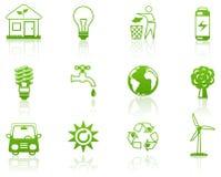 Vert d'environnement Photos stock