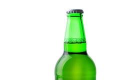 Vert de bouteille à bière Photographie stock