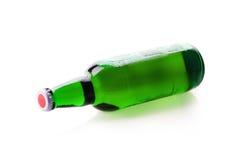 Vert de bouteille à bière Photographie stock libre de droits