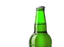 Vert de bouteille à bière Photo stock