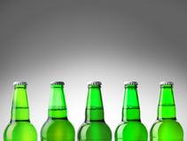 Vert de bouteille à bière Photos stock