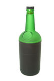 vert de bouteille Image libre de droits