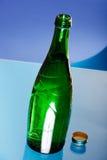 vert de bouteille Photos stock