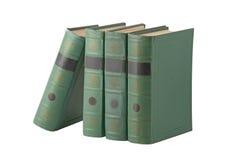 vert de cache de livres Image libre de droits