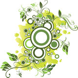 vert de cercle illustration stock