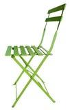 Vert de chaise pliante Image stock