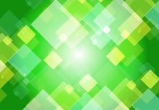Vert de conception graphique Photos stock