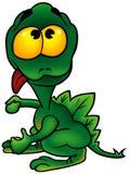 vert de dragon Images stock