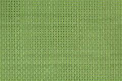 Vert de fond et de strukture tressé Photographie stock