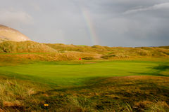 Vert de golf Images stock