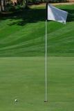 Vert de golf Photographie stock libre de droits