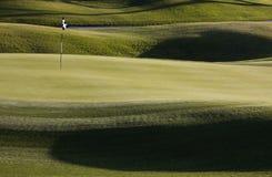 Vert de golf Image stock