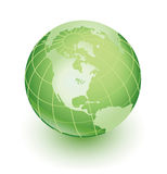 vert de la terre Photo libre de droits