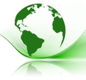 vert de la terre Photos stock