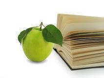 vert de livre de pomme photos libres de droits
