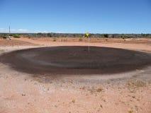 Vert de sable de golf photographie stock libre de droits