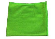 Vert de tissu de Microfiber Image libre de droits