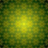 Or vert de tuile de papier peint illustration de vecteur