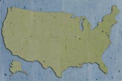 Vert des Etats-Unis de pierre Photographie stock libre de droits