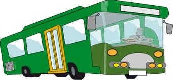 vert drôle de véhicule illustration de vecteur