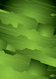 Vert du monde de Digitals illustration stock