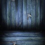 Vert en bois de panneaux de fond Image libre de droits