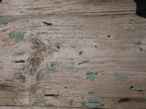 Vert en bois de texture de porte de grunge et de cru photo libre de droits