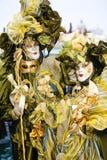Vert et or Image libre de droits