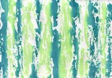 Vert et bleu barrés images stock