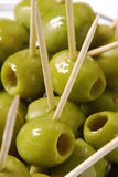 Vert et bonbon. Photo stock