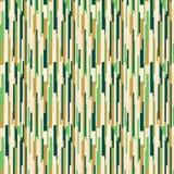 Vert et fond d'or rétro Photo libre de droits
