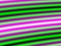 Vert et lampes au néon purpble Photo stock
