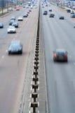 vert för bilhuvudvägrörelse Arkivbilder